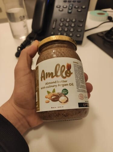 EMMYOR Amlou pure culinary argan with almonds photo review